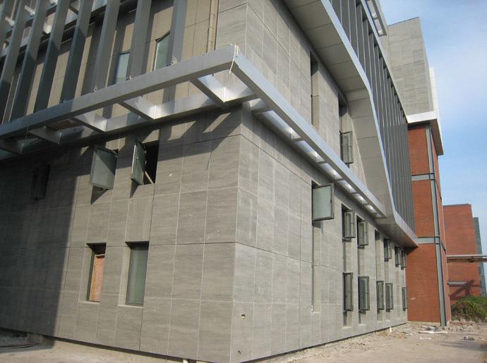 水泥纤维板外墙板应用