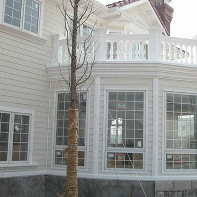别墅木纹外墙板